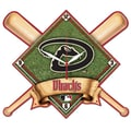 Wincraft MLB High Def Plaque Wall Clock; Arizona Diamondbacks