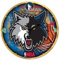 Wincraft NBA 18'' High Def Wall Clock; Minnesota Timberwolves