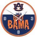 Wincraft Collegiate 12.75'' NCAA Wall Clock; Auburn Beat Alabama