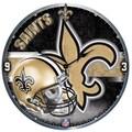 Wincraft NFL 18'' High Def Wall Clock; New Orleans Saints