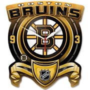 Wincraft NHL High Def Plaque Wall Clock; Boston Bruins