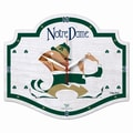 Wincraft NCAA High Definition Plaque Wall Clock; Notre Dame - Leprechaun