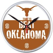 Wincraft Texas 12.75'' Longhorns Beat Oklahoma Wall Clock
