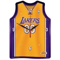 Wincraft NBA Plaque Wall Clock; Los Angeles Lakers