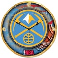 Wincraft NBA 18'' High Def Wall Clock; Denver Nuggets