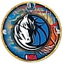 Wincraft NBA 18'' High Def Wall Clock; Dallas