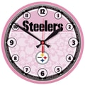 Wincraft NFL 12.75'' Wall Clock; Pittsburgh Steelers