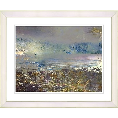 Studio Works Modern ''Sea Shore'' by Zhee Singer Framed Graphic Art; White