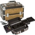 Seya Leopard Makeup Case; Chocolate