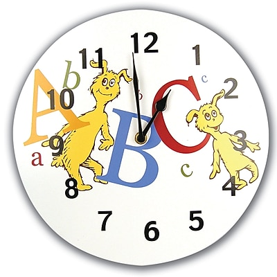 Trend Lab Dr Seuss ABC 11'''' Wall Clock