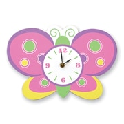 Trend Lab Baby Butterfly Wall Clock