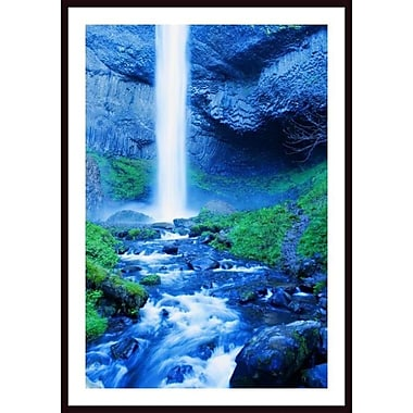 Printfinders 'Elowah Falls, Oregon, Usa' by Christine Mariner Framed Photographic Print