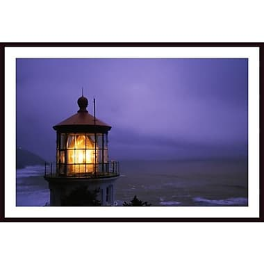 Printfinders 'Lighthouse at Heceta Head, Oregon, Usa' by Craig Tuttle Framed Photographic Print