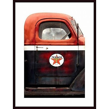 Printfinders 'Texaco Gas Delivery Truck' by John Nakata Framed Photographic Print