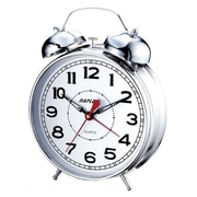 Maples Clock 4'' Desktop Double Bell Alarm Clock