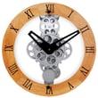 Maples Clock 12'' Moving Gear Wall Clock