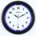 Maples Clock 13'' LED Wall Clock; Black