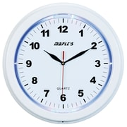 Maples Clock 13'' LED Wall Clock; White