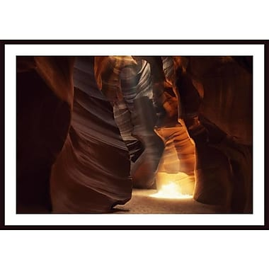 Printfinders 'Sunbeam in Antelope Canyon' by Jeff Friesen Framed Photographic Print