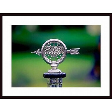 Printfinders 'Pierce Arrow Radiator Cap' by John Nakata Framed Photographic Print