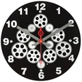 Maples Clock 12'' Moving Gear Wall Clock