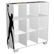 My Owners Box CubeIts Sports 9 Cube 36'' Bookcase