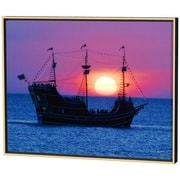 Menaul Fine Art Pirate Ship Limited Edition by Scott J. Menaul Framed Photographic Print; 30 x 38