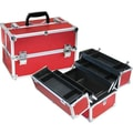 TZ Case Pro Case with 4 Extendable Trays, Dividers & 6 Bottom Compartments; Red Dot