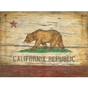 Vintage Signs Red Horse California Flag Vintage Advertisement Plaque