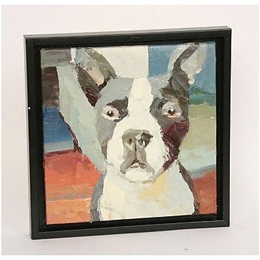 Unleashed Life Boston Terrier Framed Original Painting