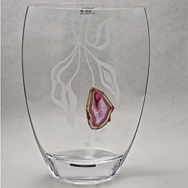Womar Glass Precious Stone Agate Series IV Vase
