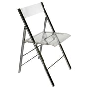 Wholesale Interiors Baxton Studio Macbeth Acrylic Foldable Side Chair (Set of 2)