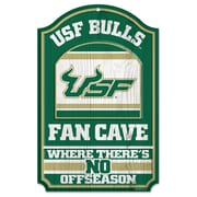 Wincraft NCAA Graphic Art Plaque; University of South Florida