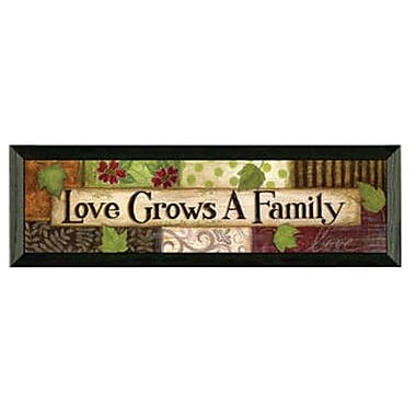 Timeless Frames Love Grows by Annie Lapoint Framed Graphic Art