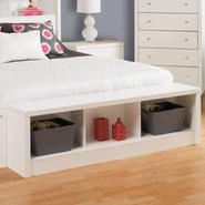 Prepac Calla Storage Bedroom Bench