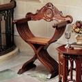 Design Toscano The Savonarola Arm Chair