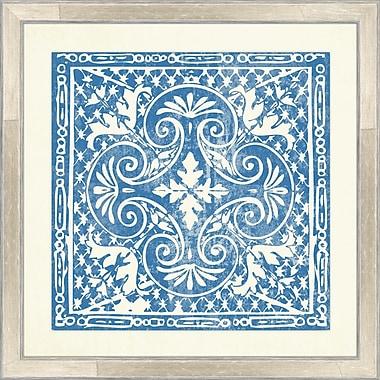 Melissa Van Hise Tiles IV Framed Graphic Art