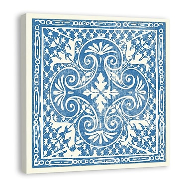 Melissa Van Hise Tiles IV Graphic Art on Wrapped Canvas