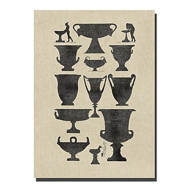 Melissa Van Hise Vases I Graphic Art on Wrapped Canvas