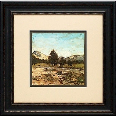 North American Art Western View V by Megan Meagher Framed Painting Print
