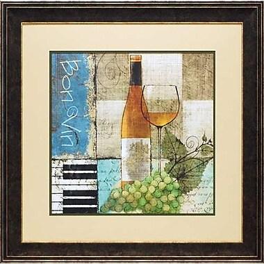 North American Art 'Bon Vin' by Keith Mallett Framed Graphic Art