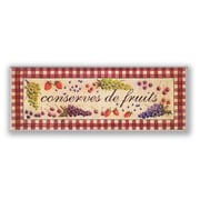 Stupell Industries Oversized Conserves de Fruits Kitchen Wall Plaque