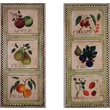 Stupell Industries Oversized Assorted Fruits 2-Piece Kitchen Wall Plaque Set