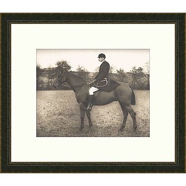Melissa Van Hise Equestrian lll Framed Photographic Print