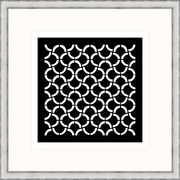 Melissa Van Hise Geometric 1 Framed Graphic Art; Black