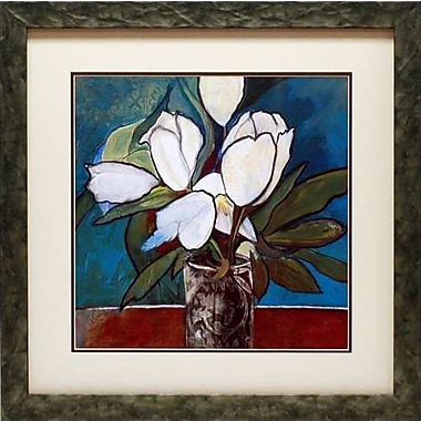 North American Art Crystal Tulips by Connie Tunick Framed Painting Print