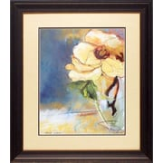 North American Art 'Magnolia Perfection I' by Marina Louw Framed Painting Print