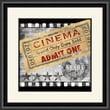 PTM Images Lights Camera Action B Framed Vintage Advertisement