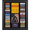 Mounted Memories The Beatles 1964 U.S. Tour Presentation Framed Graphic Art