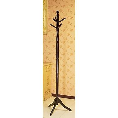 Mega Home Wood Coat Stand; Cherry